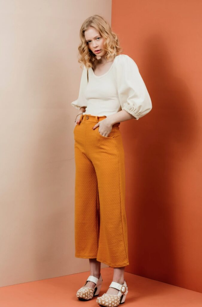Joan Trousers - The Friday Pattern Company - pattern cover image