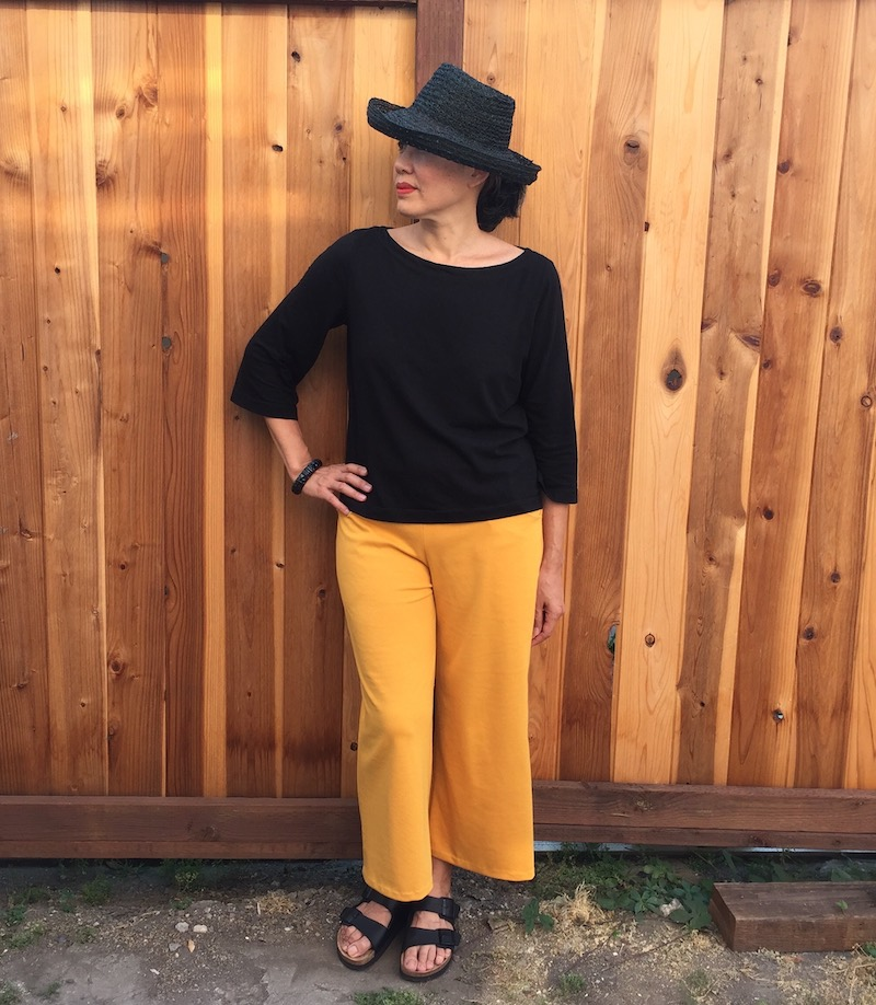 Joan Trousers by The Friday Pattern Company - front view